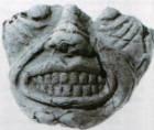 Frightening mask