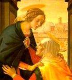 The Visitation, Ghirlandaio