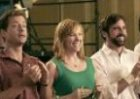 Still from the movie 'Little Miss Sunshine', about a family that supports each other