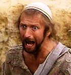 A horrified Brian in 'Life of Brian'