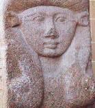 Statue of the ancient Egyptian goddess Hathor