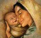Happy mother with happy baby