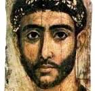 Coffin portrait of a wealthy young man, from the Fayum coffin portraits