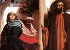 Jezebel, Ahab and Elijah, Leighton painting