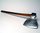 A large axe